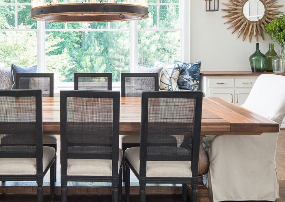 weston trestle dining table