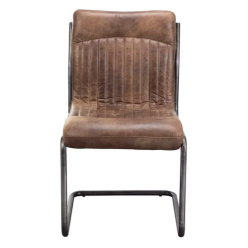 Ansel Leather Dining Chair