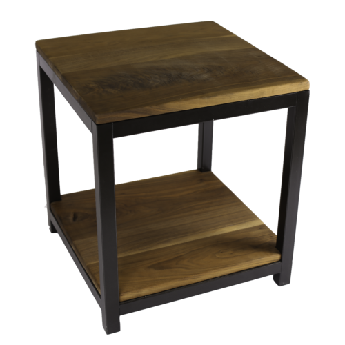 Braylon Side Table with Shelves