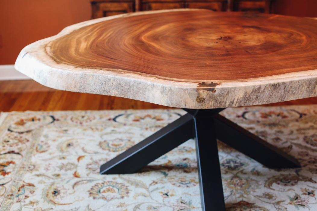 guanacaste live edge round table